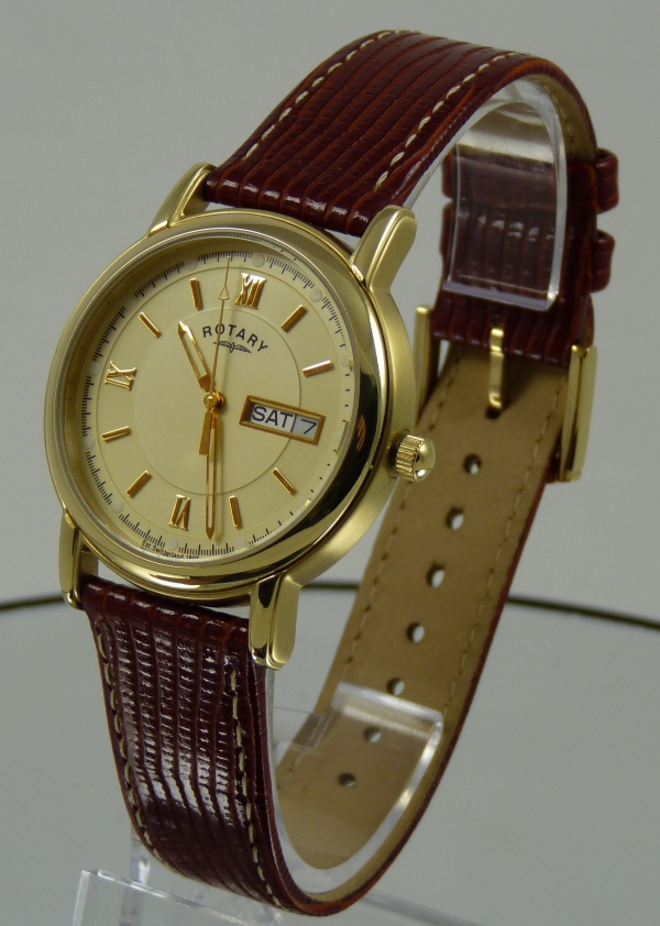Rotary Day Date Watch