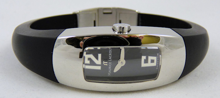 maurice lacroix Ladies Intuition Black Face Watch