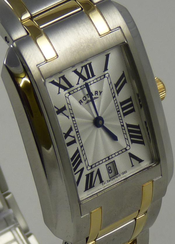 Gents Rotary Two Tone